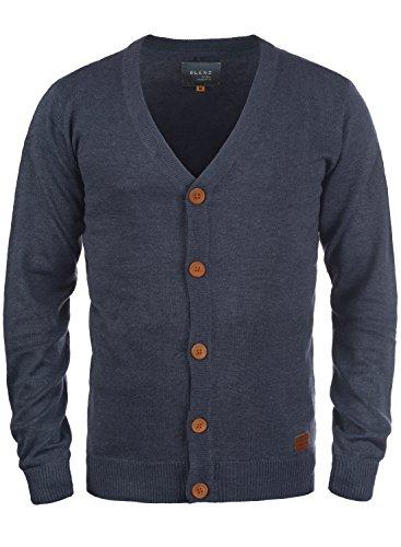 BLEND 703656ME Cardigan, Größe:L;Farbe:Navy (70230)